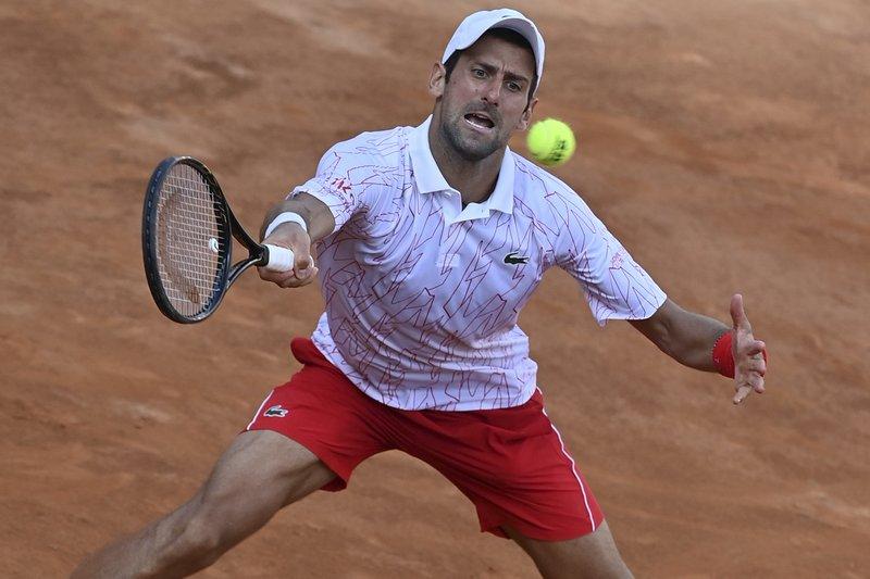 I Deserved It Djokovic Gets Obscenity Warning In Sf Win