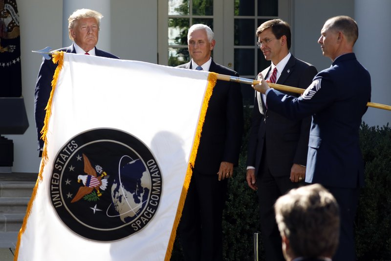 Inspector general reviews Trump last-minute decision to relocate Space Command