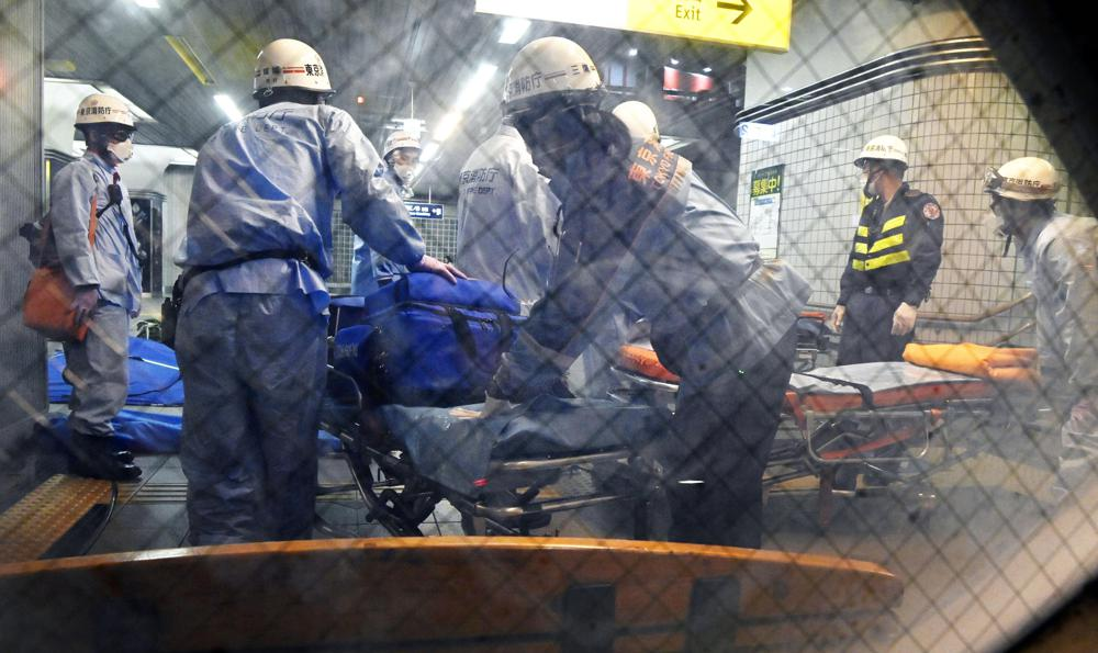 At Least 10 People Injured in Knife Attack on Tokyo Train