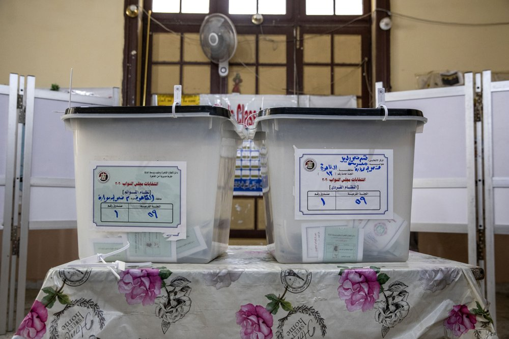 Egyptians vote in 2nd and final stage of parliamentary election