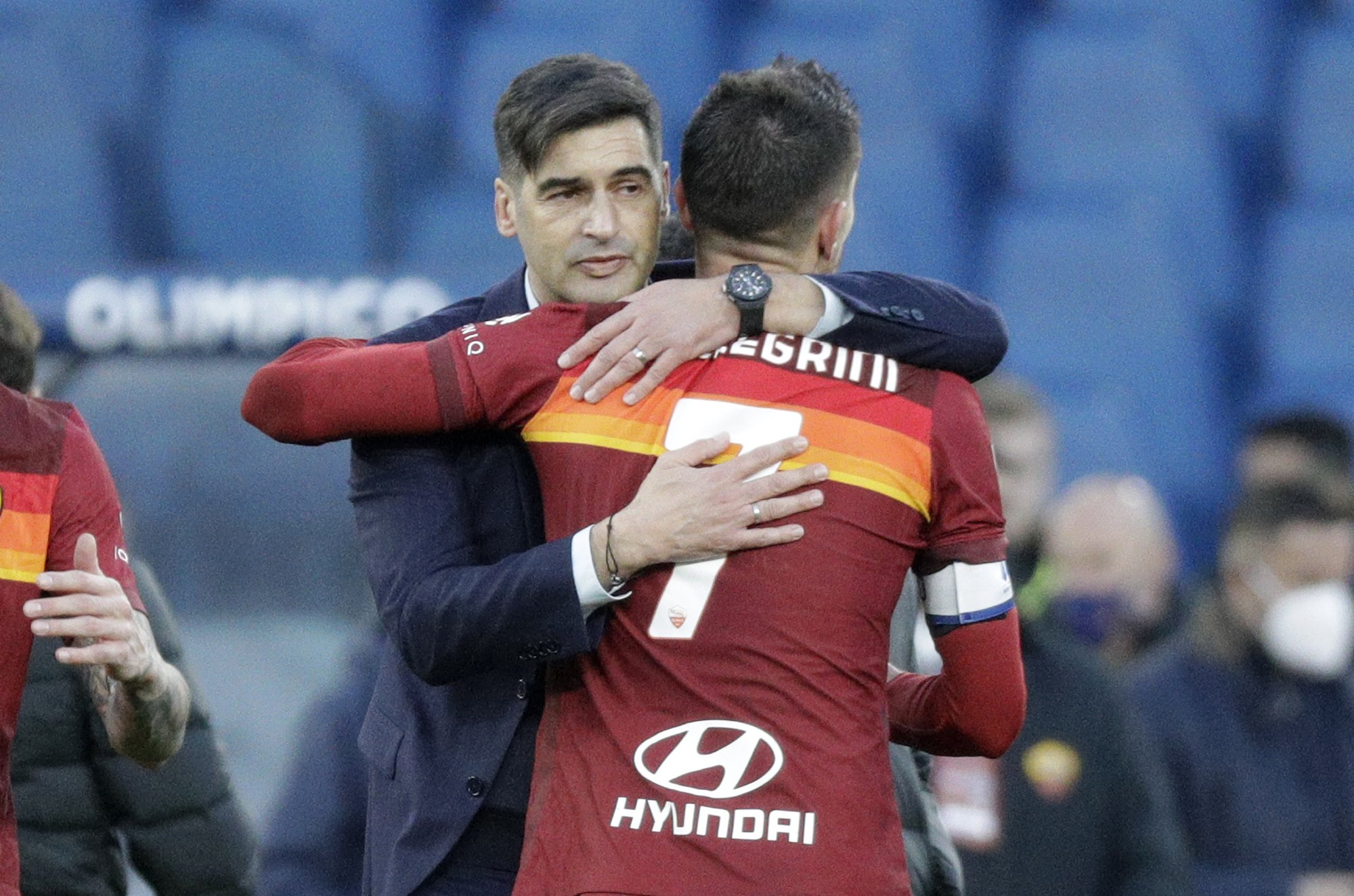 Embattled Roma gets some relief with 4-3 win over Spezia