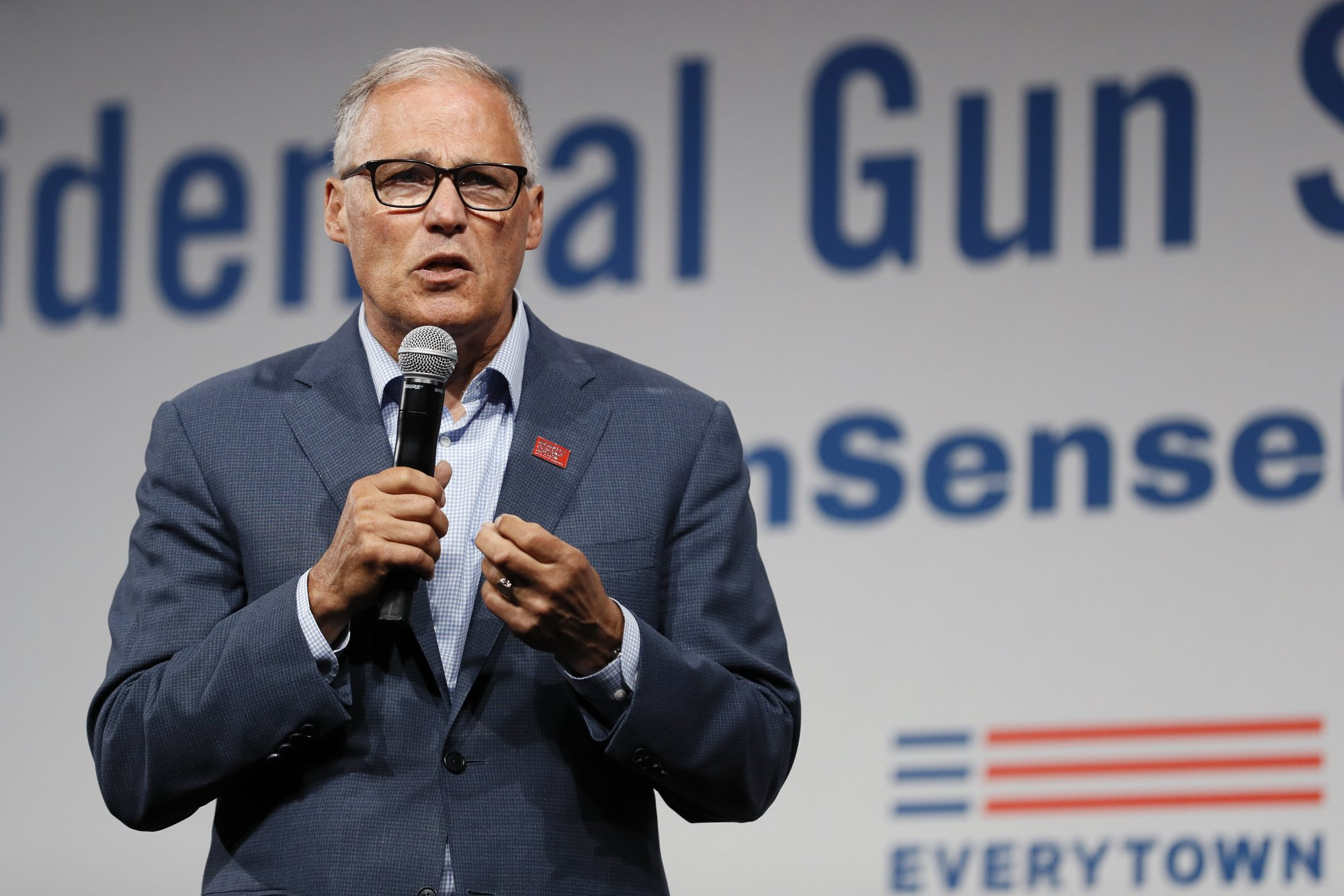 Washington Gov. Jay Inslee says he's ending presidential bid