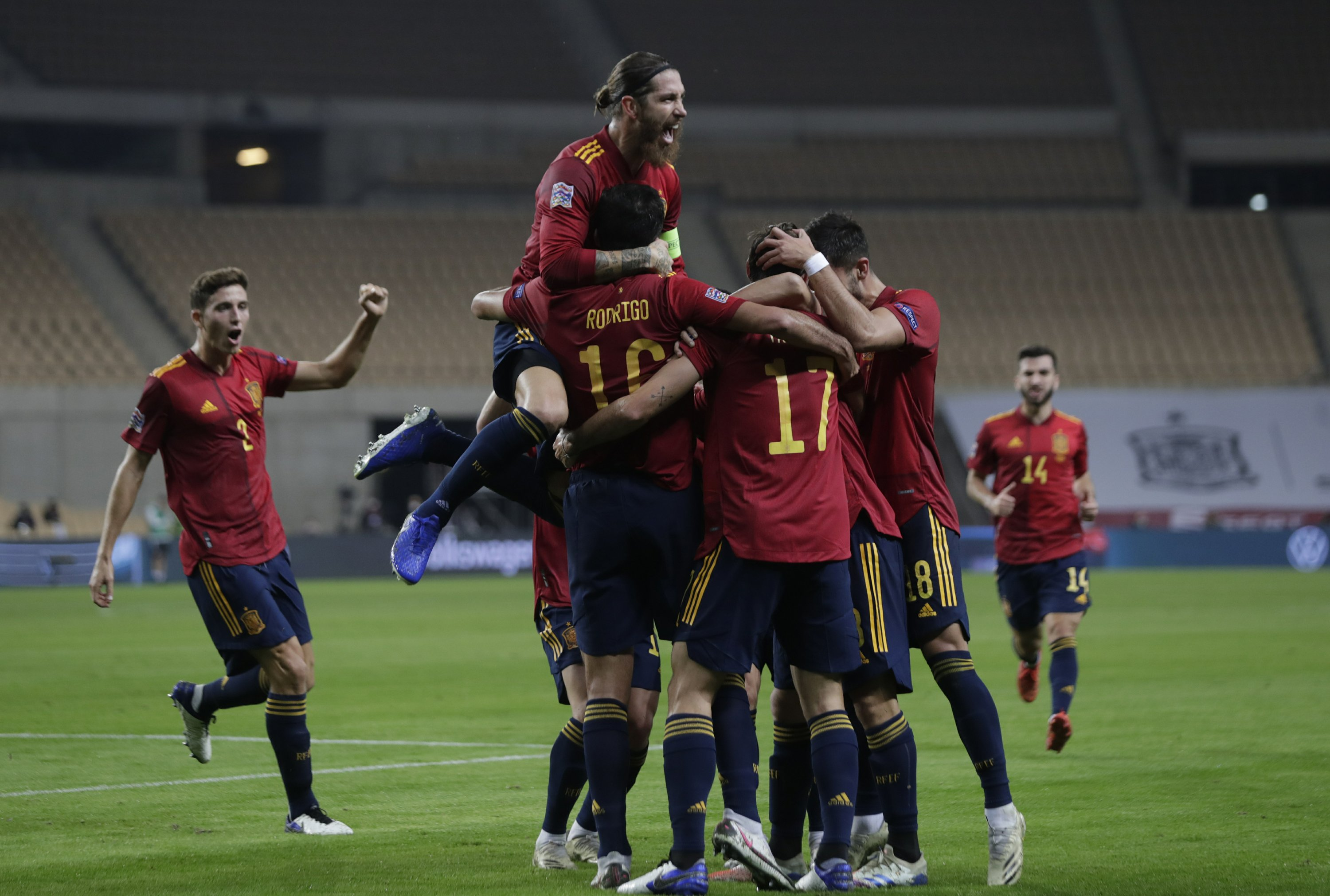 Spain hands Germany worst defeat, 6-0 in Nations League