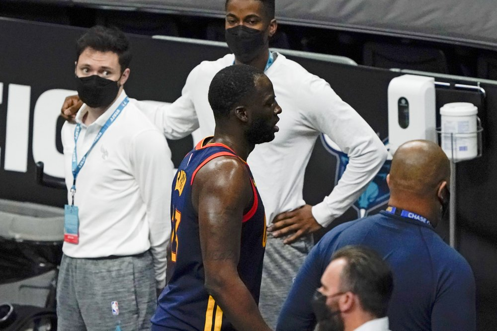 Draymond Green lost his cool; Golden State Warriors lost another game