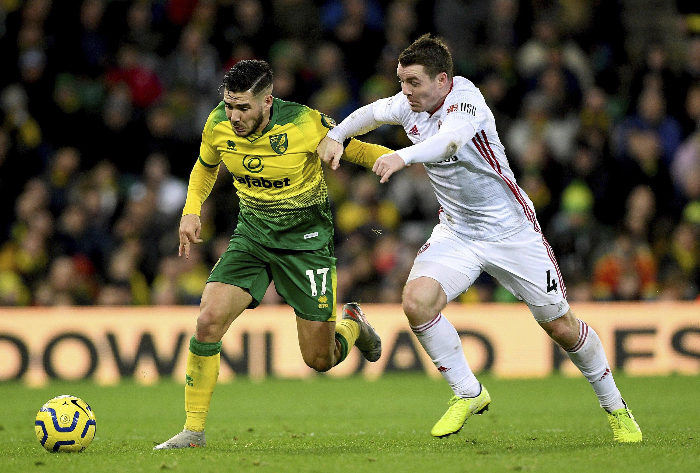 Sheffield United beats struggling Norwich