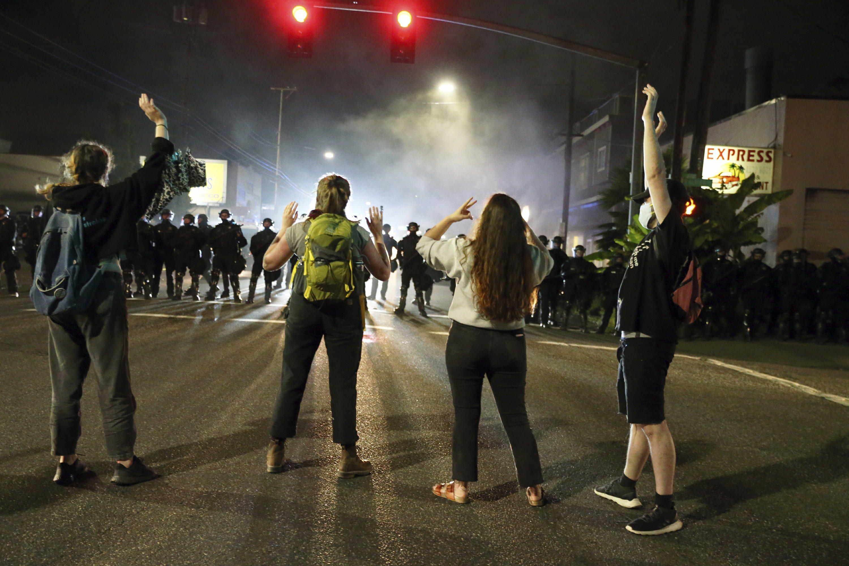 Violence mars Portland protests, frustrates Black community