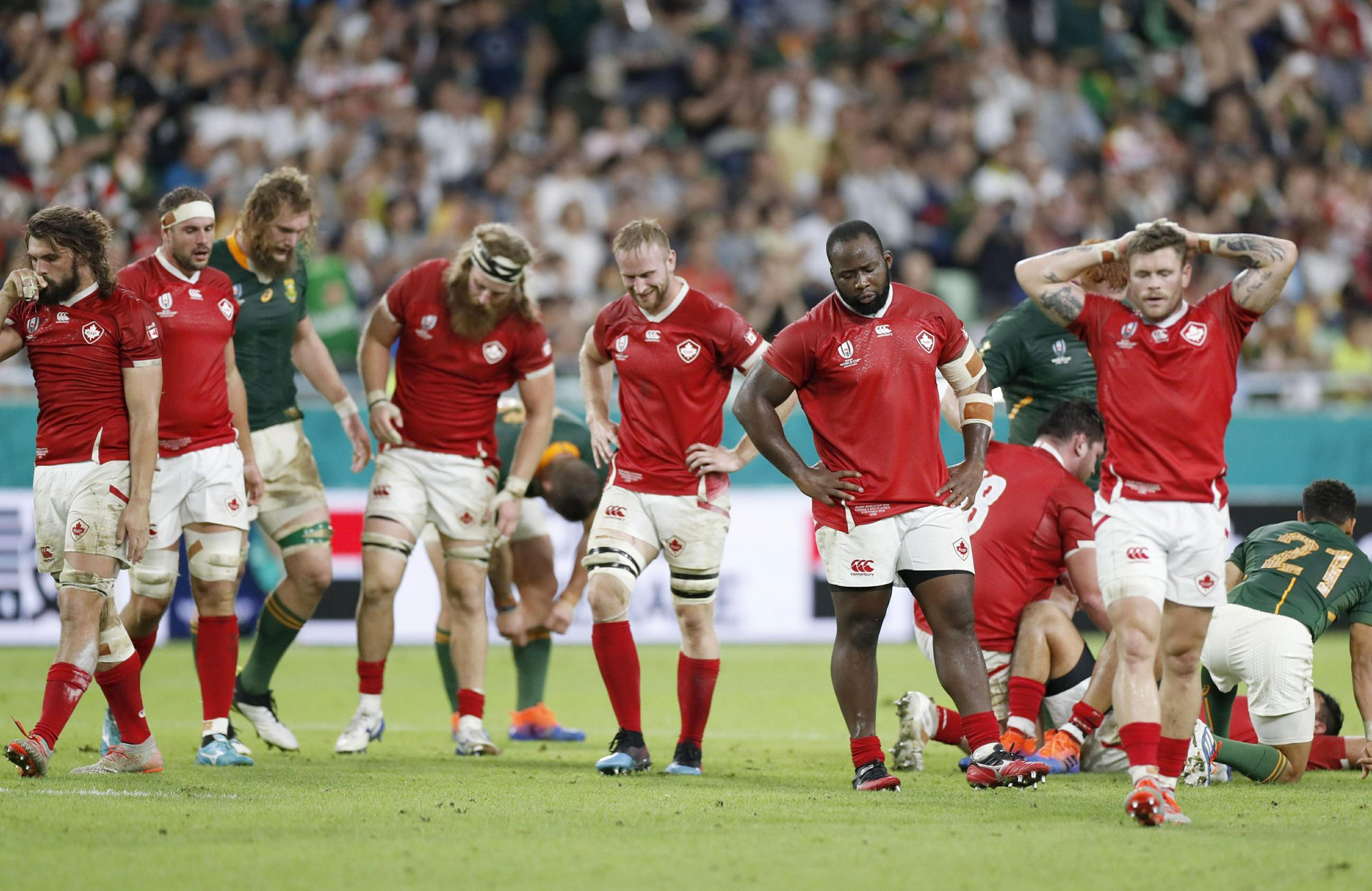 Namibia, Canada rue missed shot at rare Rugby World Cup win