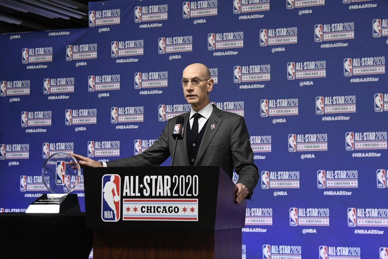 """ . . . there are wounds in our country that have never healed: NBA, Adam Silver in a memo"