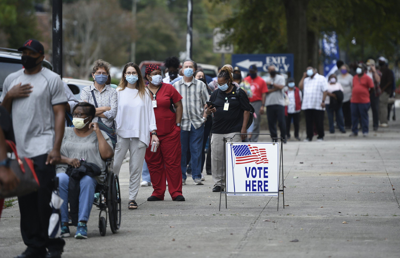 Under pressure, some Ga. corporate leaders slam voting bill