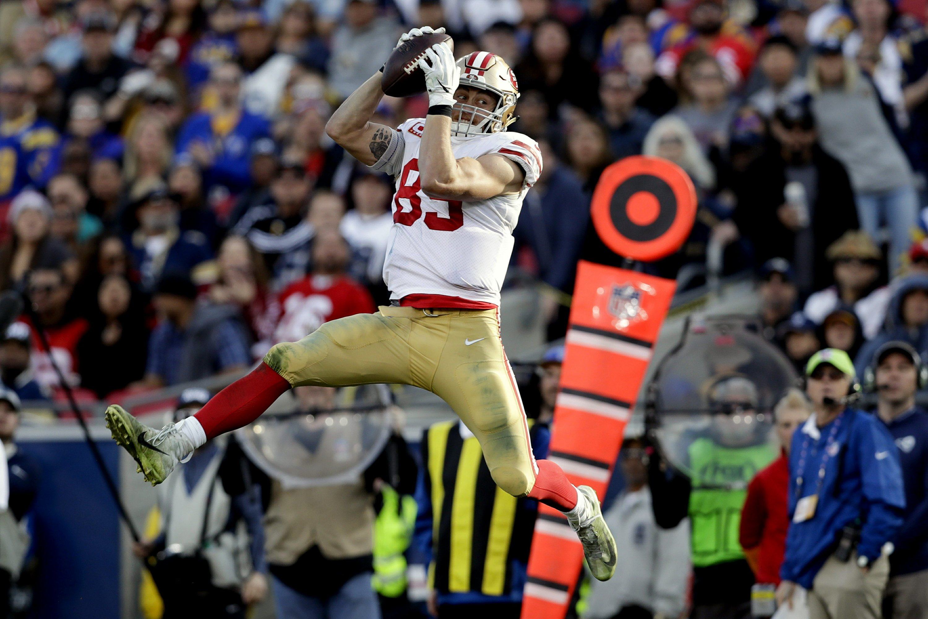 Prolific Te Kittle Takes As Much In Blocking As Receiving