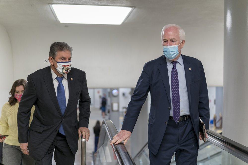 Senate leaders and Joe Manchin strike deal over emergency jobless deal