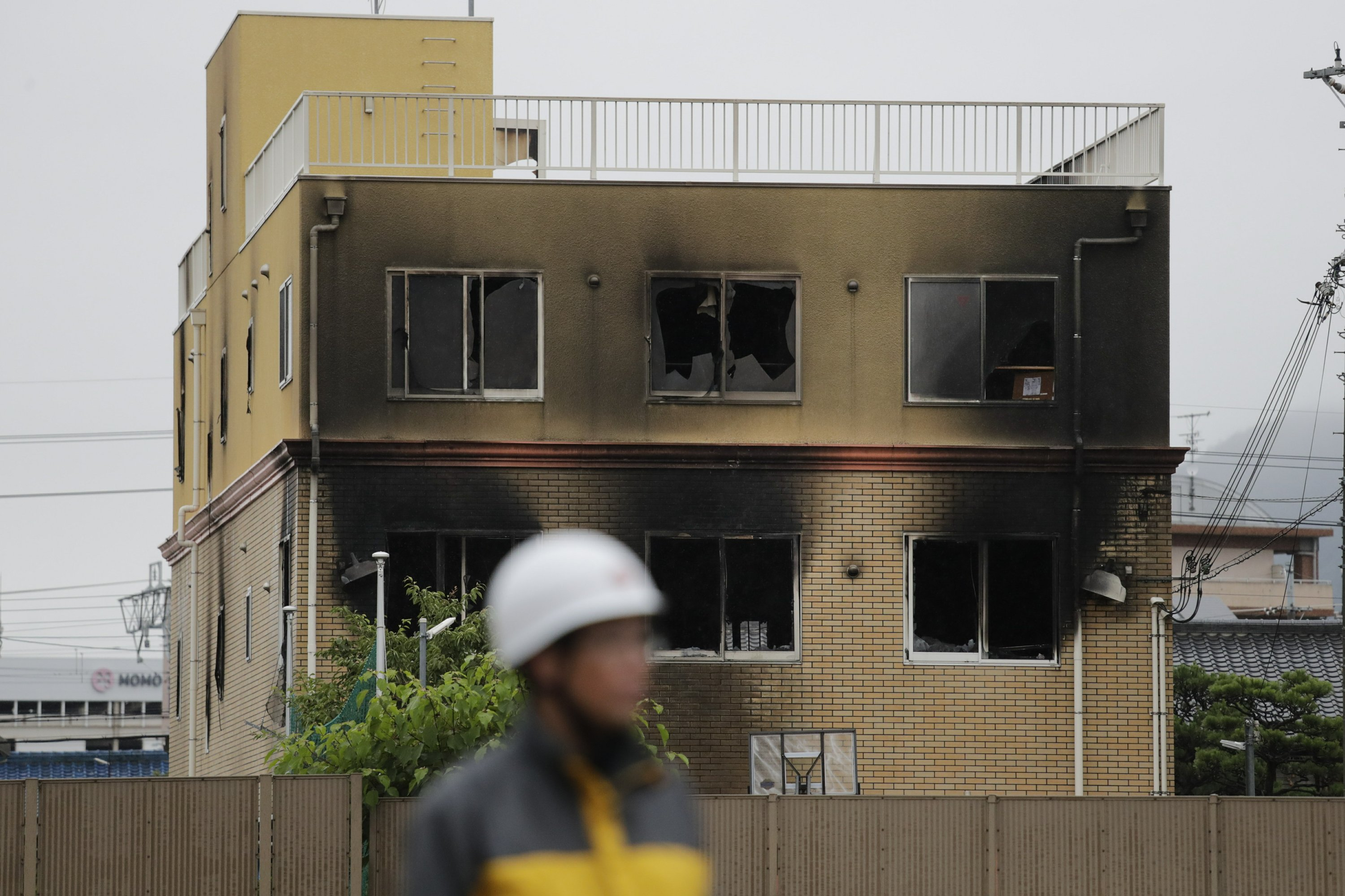 Man shouting 'You die!' kills 33 in Japan anime studio fire