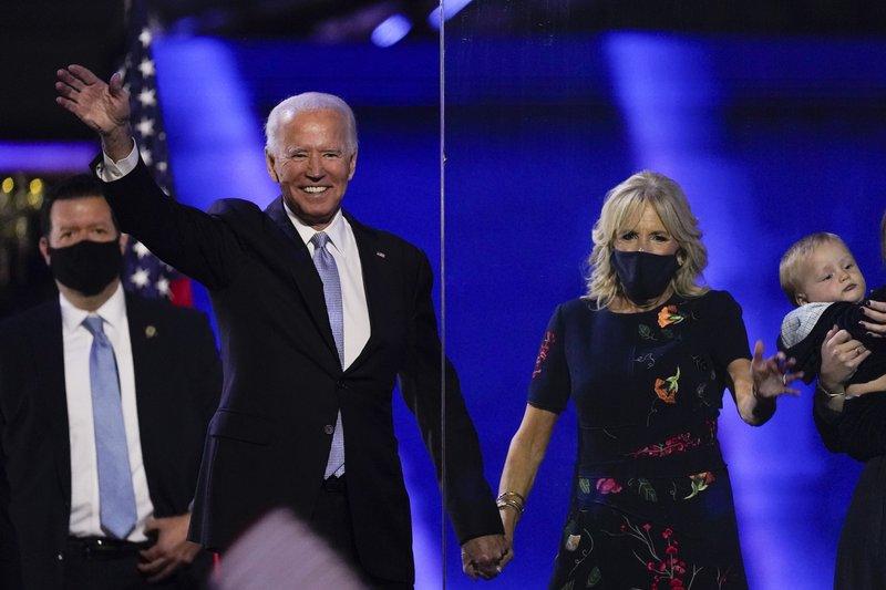 Transcript of President-elect Joe Biden's victory speech