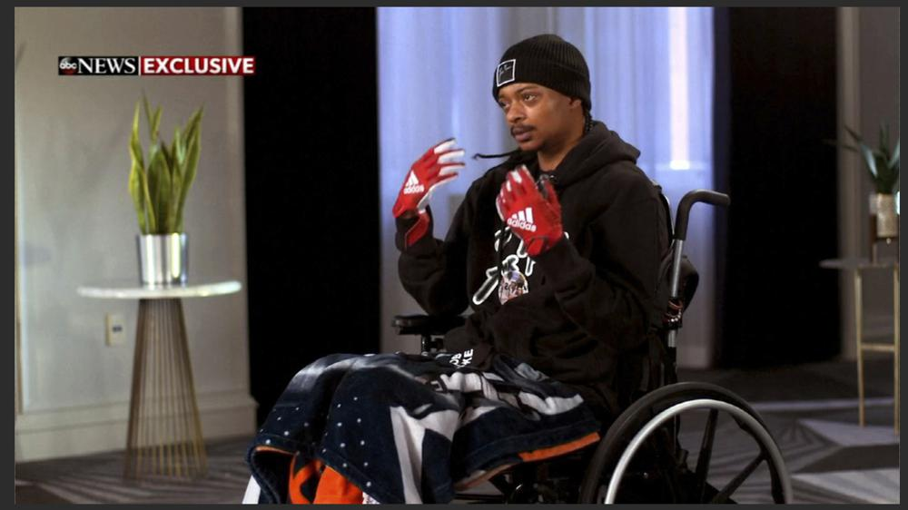 Jacob Blake, Paralyzed After Being Shot by Wisconsin Police Officer, Hopes to Walk Again Soon