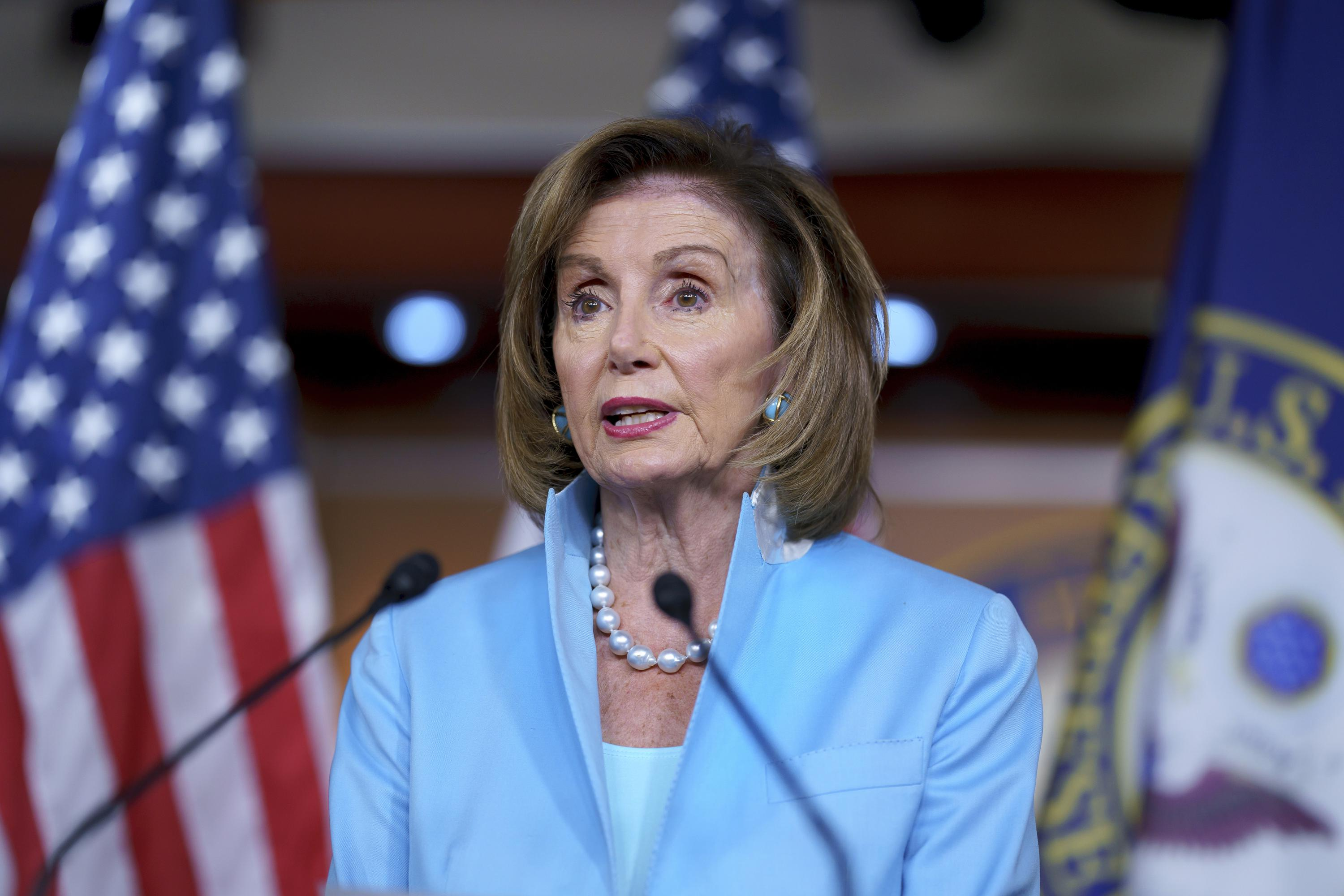 Nancy Pelosi Blames the Media for Not 'Selling' Biden's .5 Trillion Spending Plan as She Admits Democrats Will Have to Cut It and Insists Plans for the IRS to Snoop on Americans Will Still Be Included