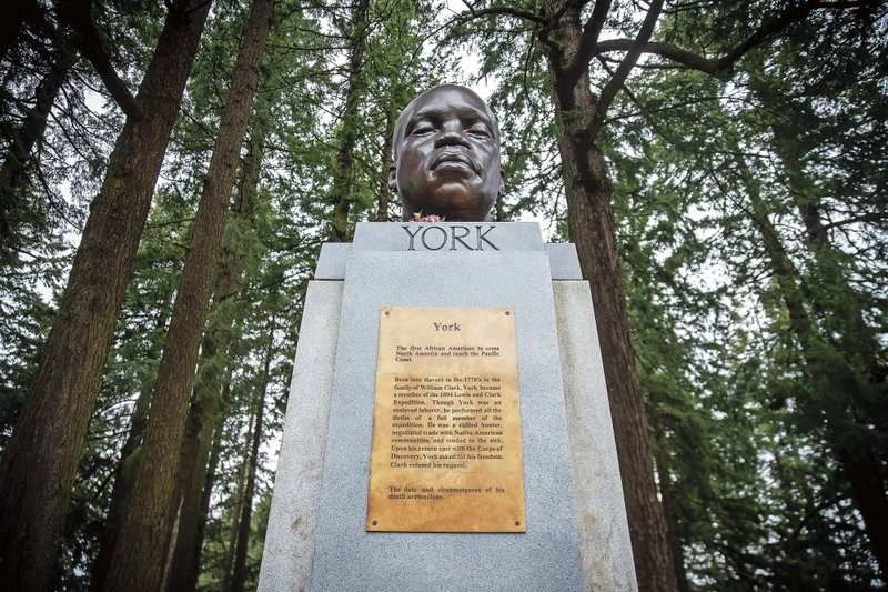 Statue Honoring Enslaved Black Member of Lewis & Clark Expedition Defaced in Oregon