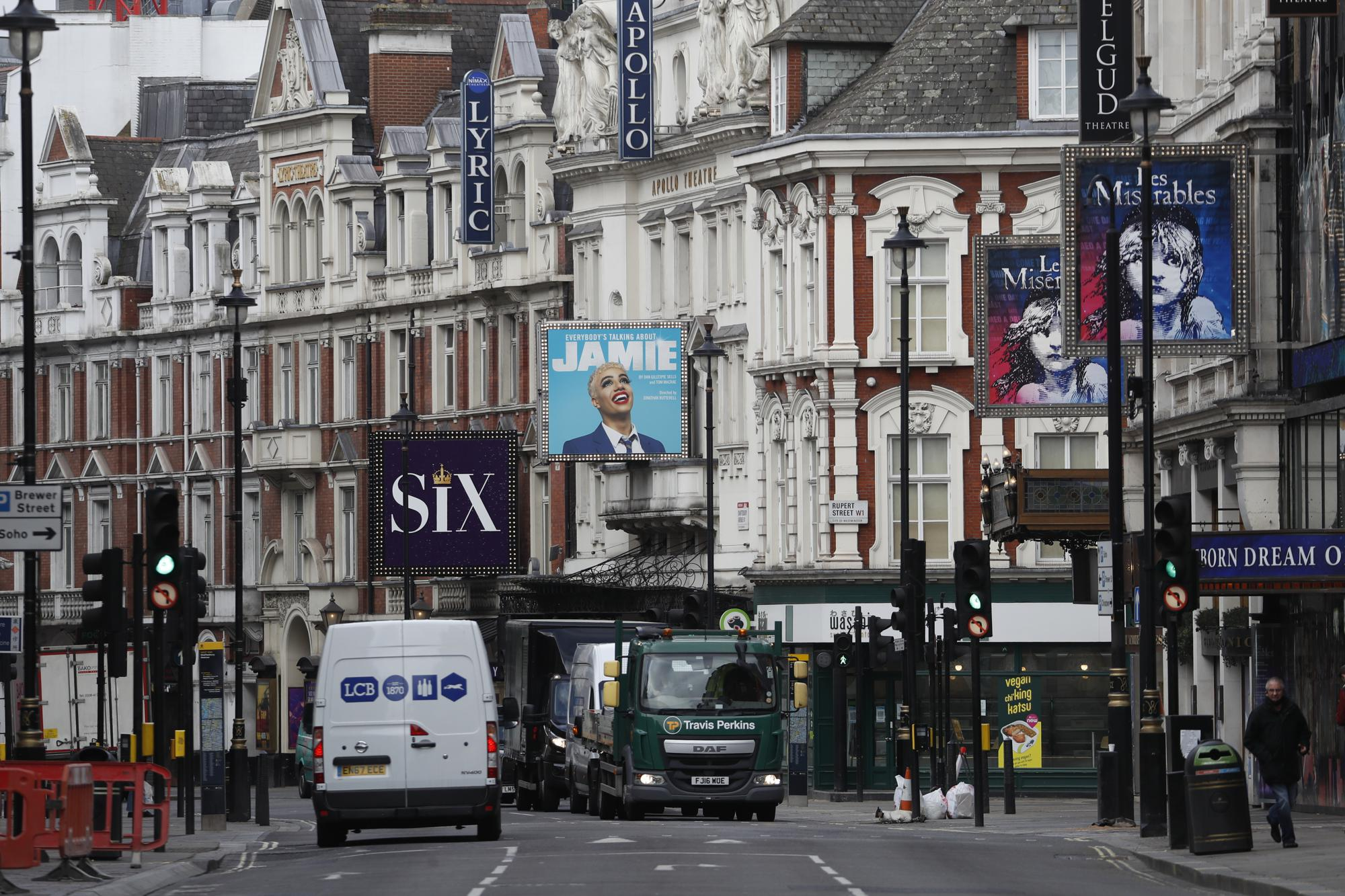 London's West End preparing with hope, apprehension to welcome its audiences back
