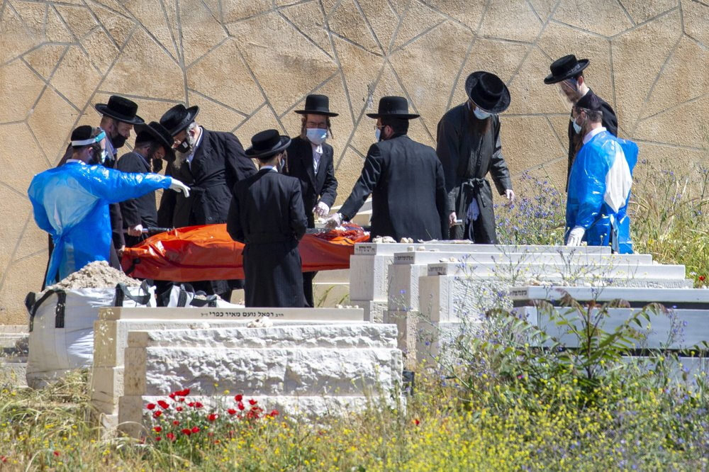 Although air travel has waned, Jews are still making that final flight to Israel to secure burial spot for themselves as well as for the already deceased