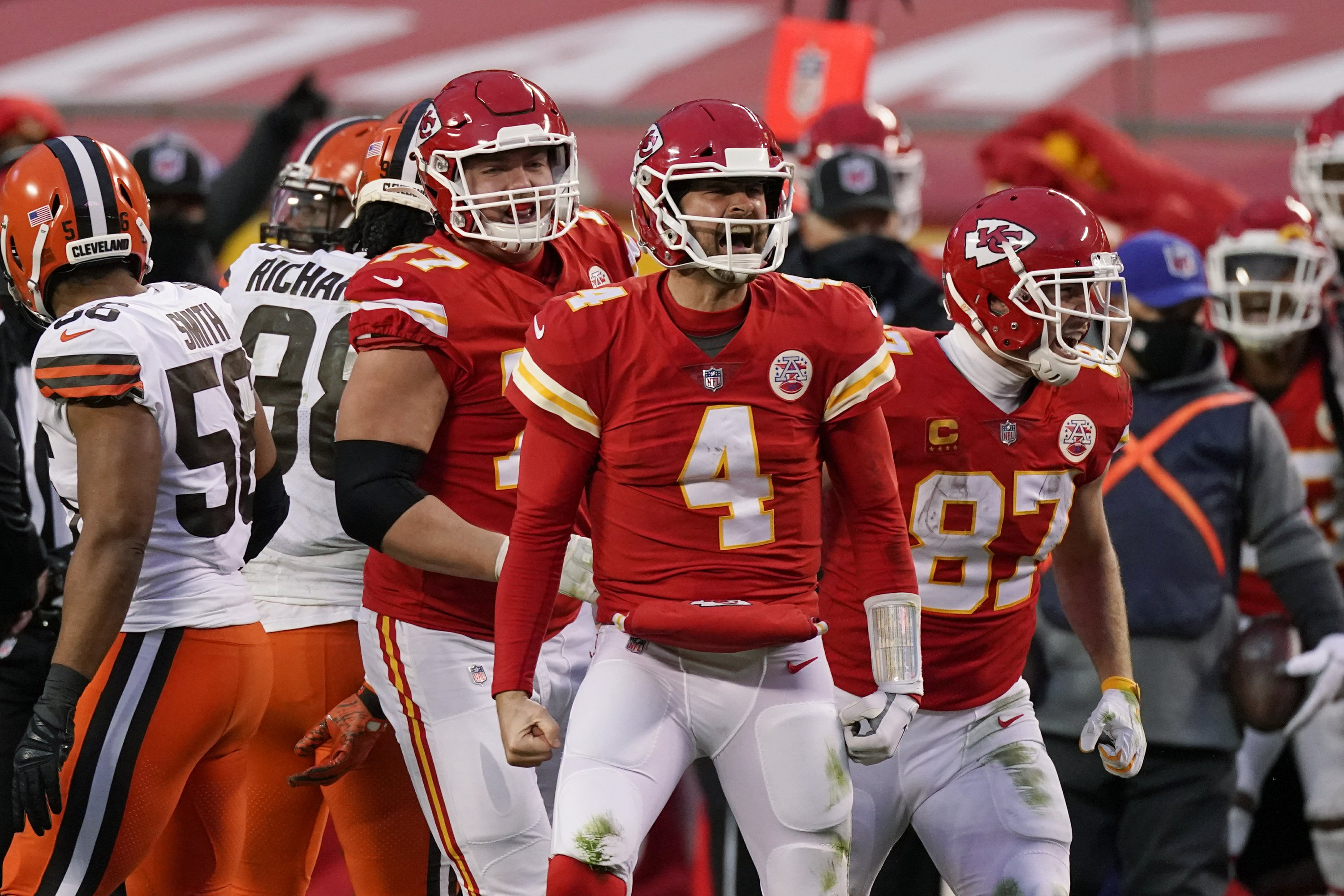 Brady vs Rodgers, possibly Mahomes vs. Allen in title games