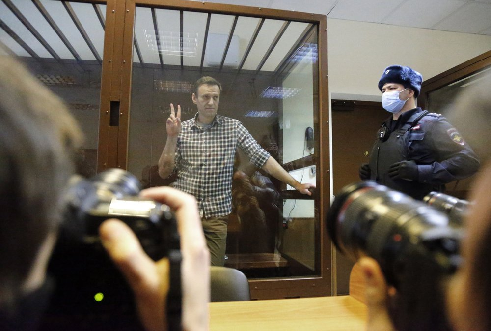Moscow court rejects opposition leader Alexei Navalny's appeal against prison sentence