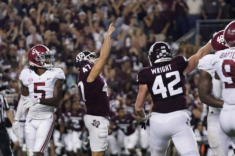 Texas A&M Kicker Seth Small Says he Recited Psalm 23:1 All Night Before Game-Winning Kick Against Alabama and Ranks the Feat Behind his Faith in Jesus Christ