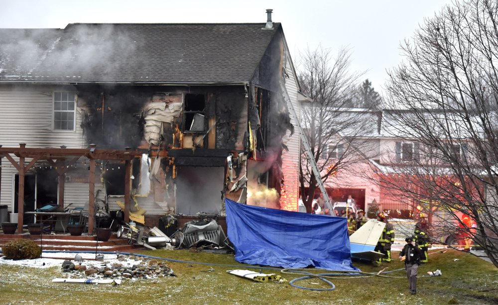 David S. Compo and family die after plane crashes into Michigan house