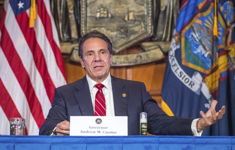 New York Gov. Andrew Cuomo to receive International Emmy for coronavirus briefings