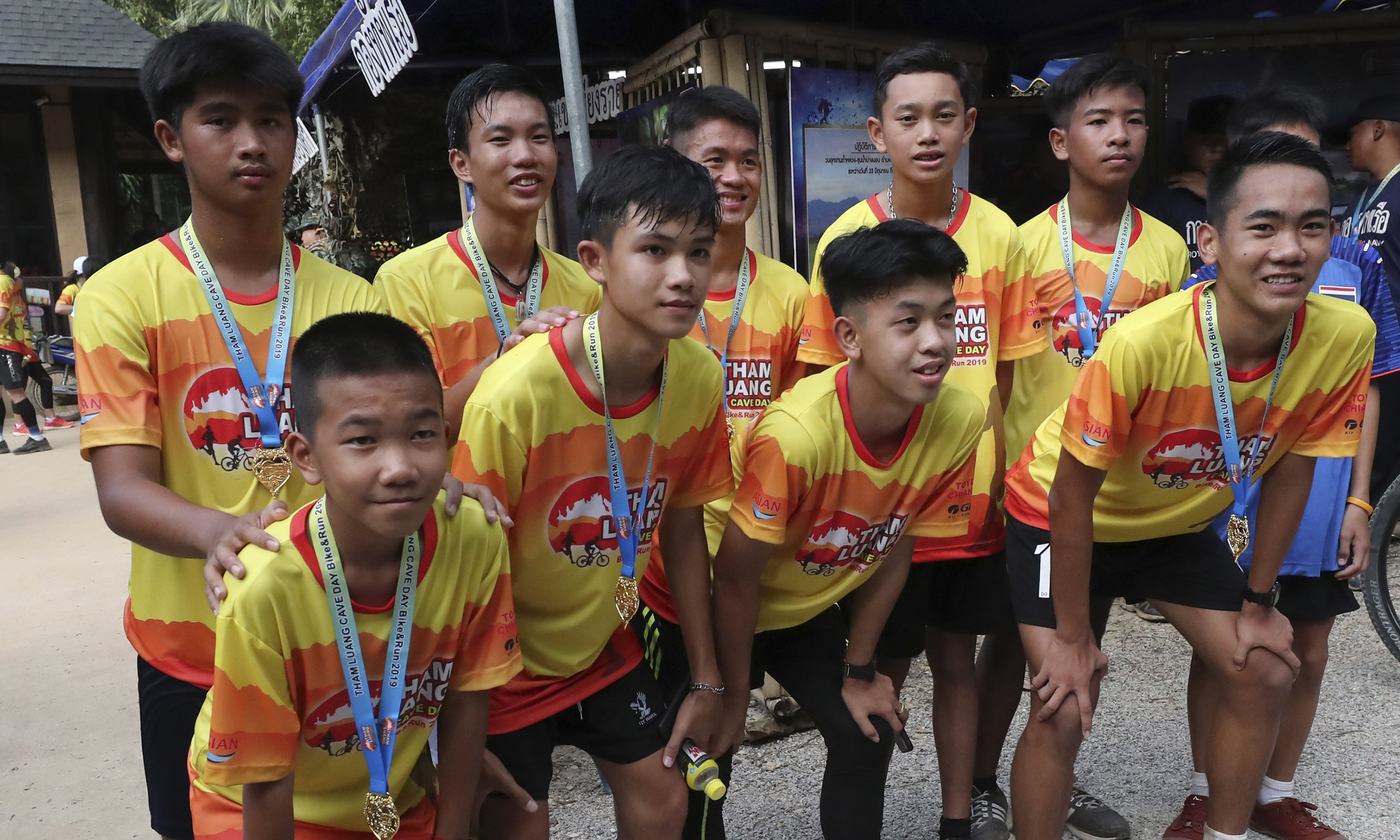 Thailand's Wild Boars mark year since going missing in cave