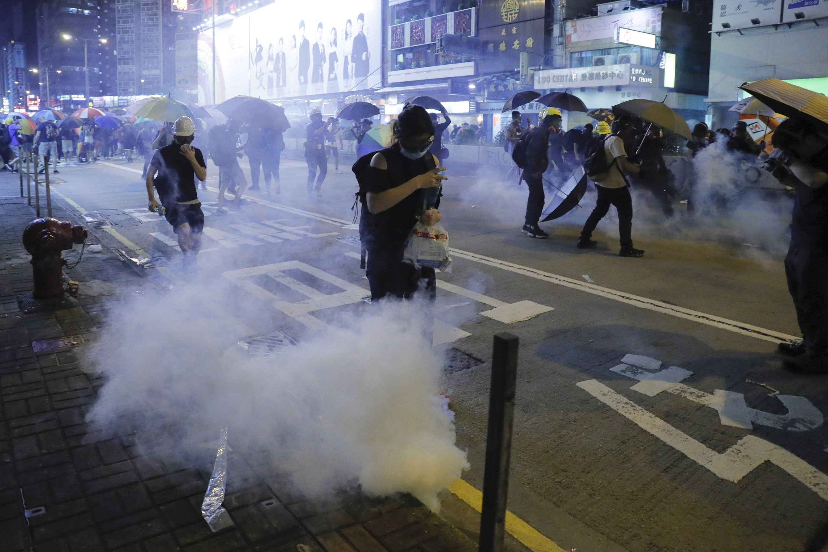 Protests continue in Hong Kong despite bill's withdrawal