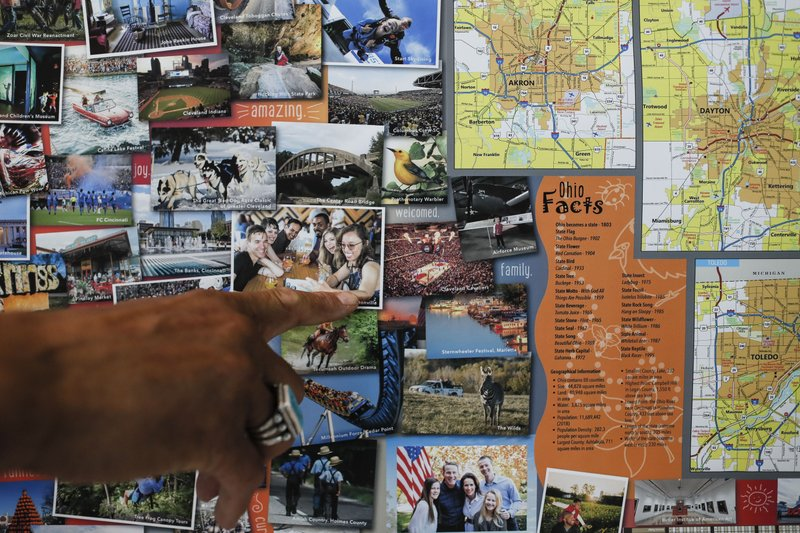 State mapmaker brings creativity, whimsy to Ohio road maps on
