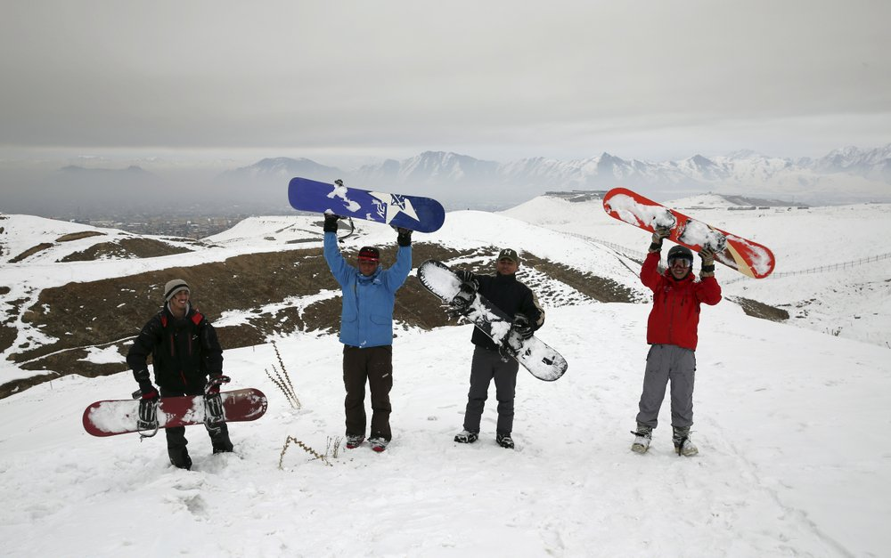 Молодежь в Афганистане показала, что война в их стране — не помеха зимним видам спорта (ФОТО)