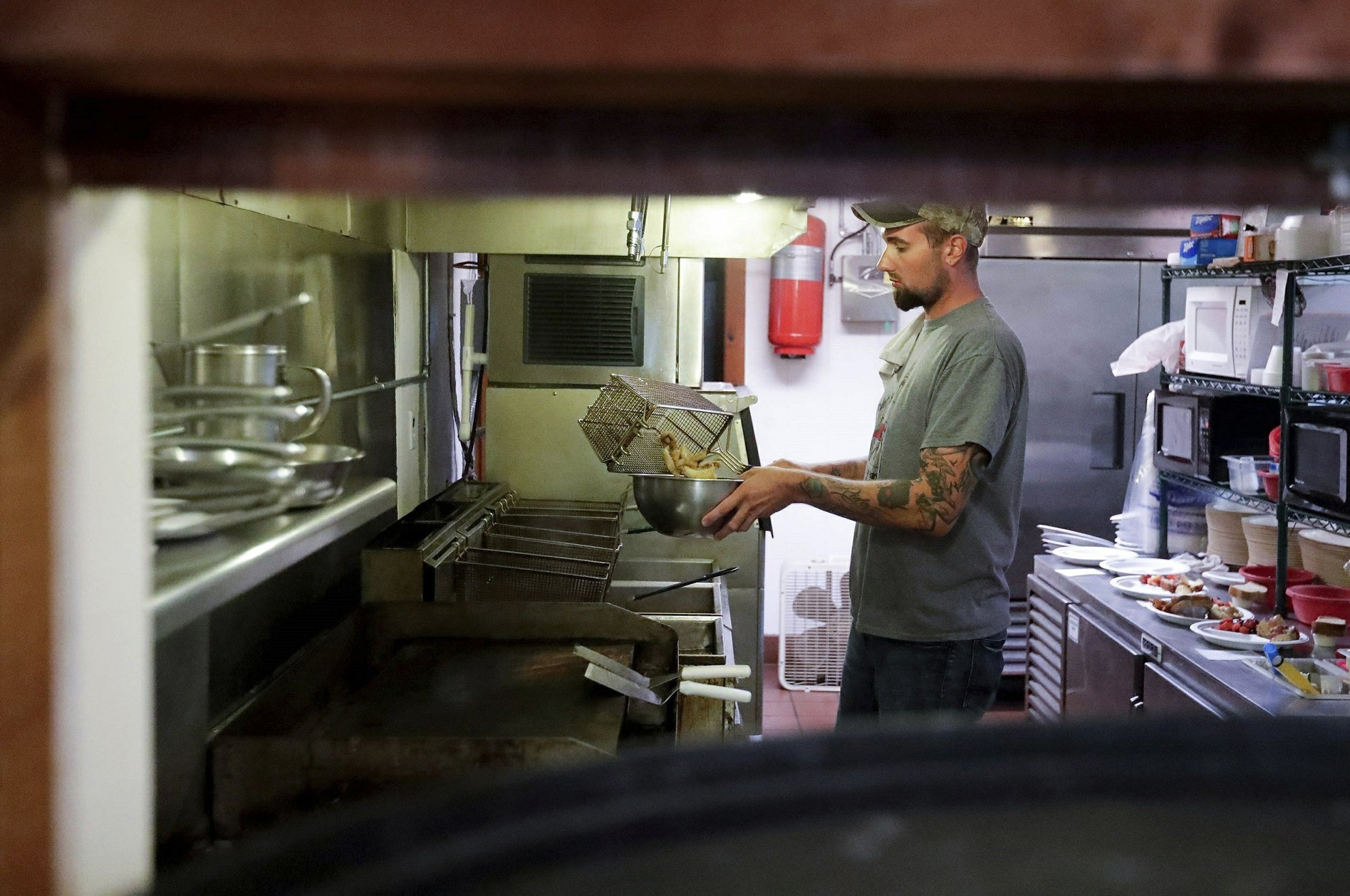 Vendors scramble as fresh lake perch supply shrinks