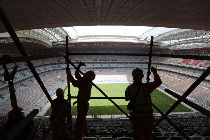 AP PHOTOS: Vibrant Qatar shrugs off Arab boycott