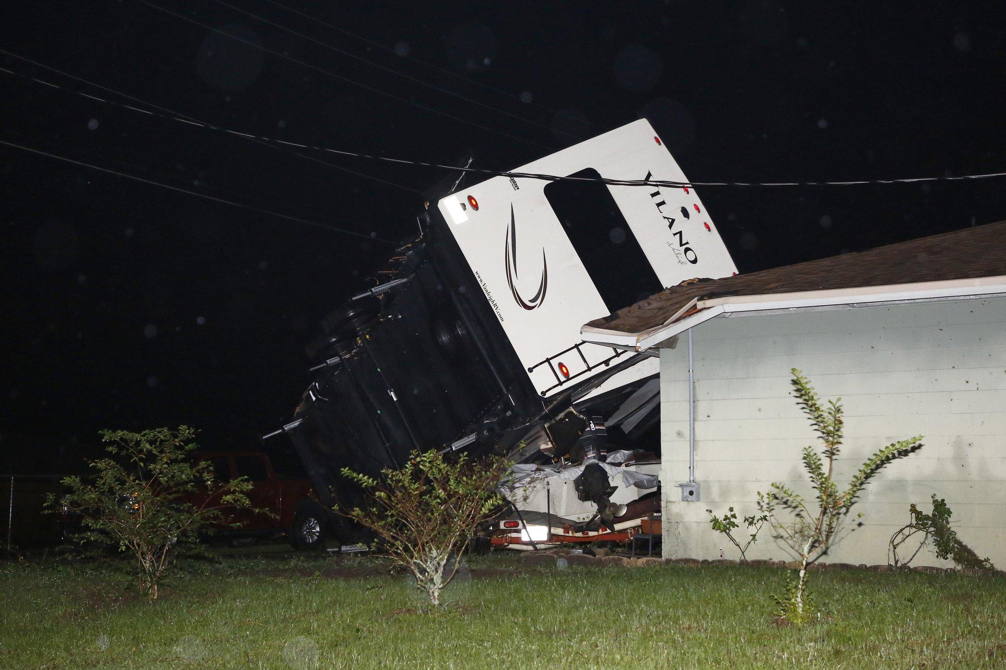 Nestor heads into Georgia after tornados damage Florida