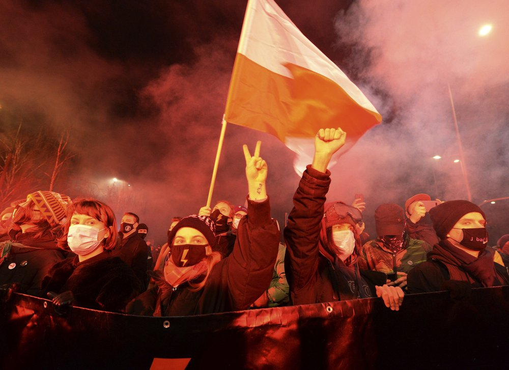 Near-total abortion ban in Poland sparks new round of protests