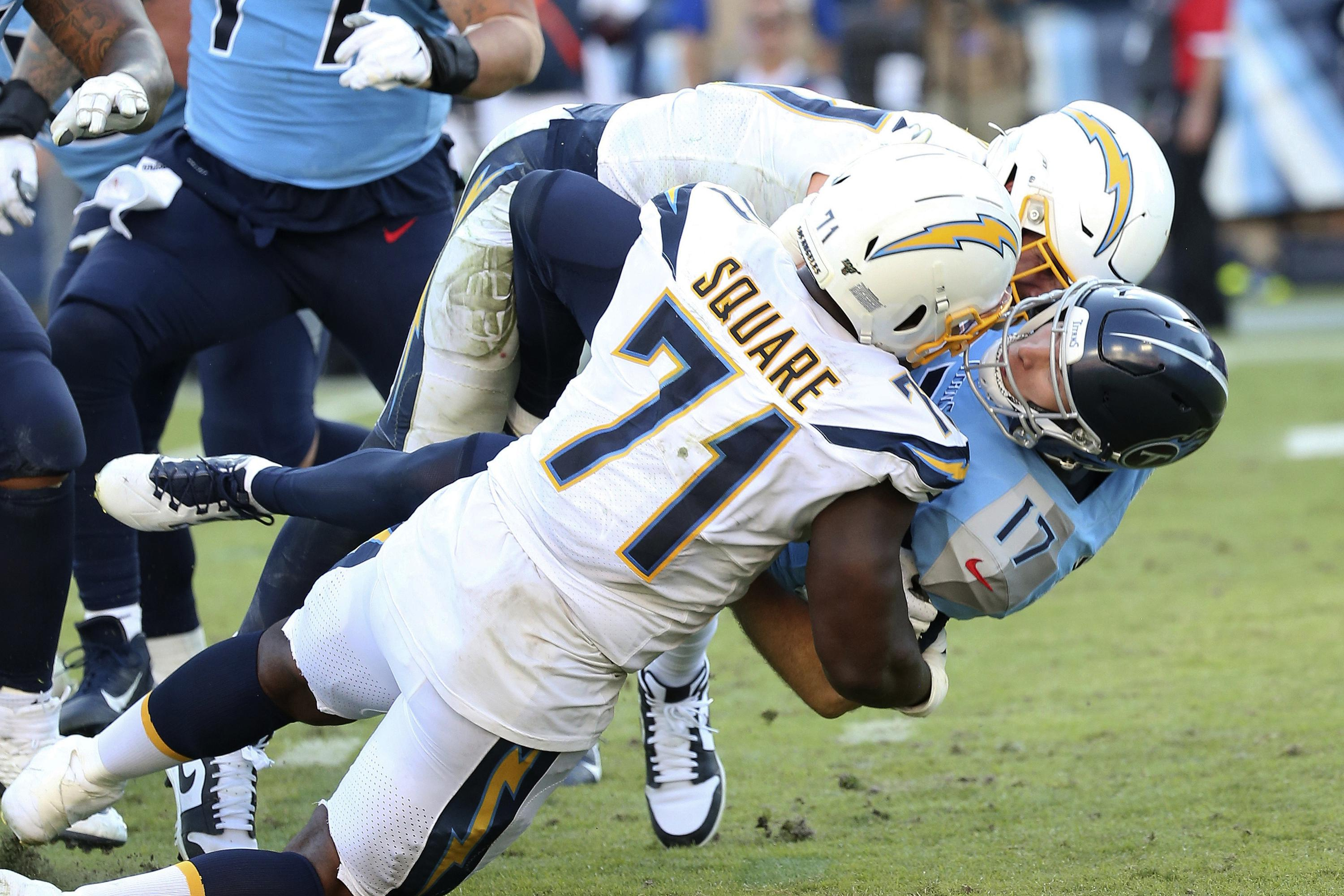 Browns sign veteran DT Damion Square, formerly with Chargers