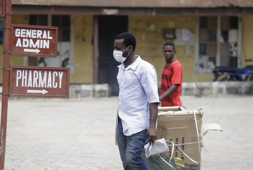 Nigeria confirms 1st case of new virus in sub-Saharan Africa