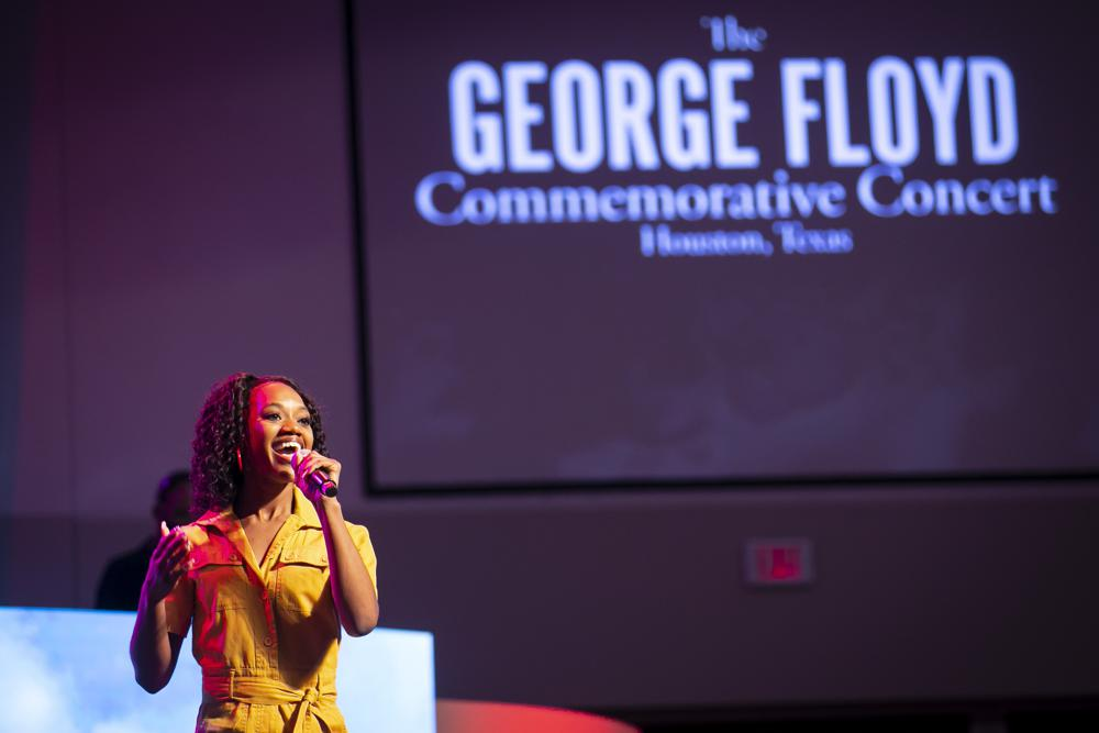 George Floyd Honored With Concert by Religious Leaders