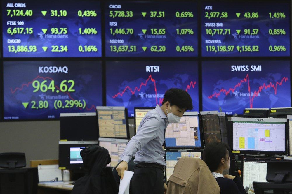 Global stocks higher after weak US jobs