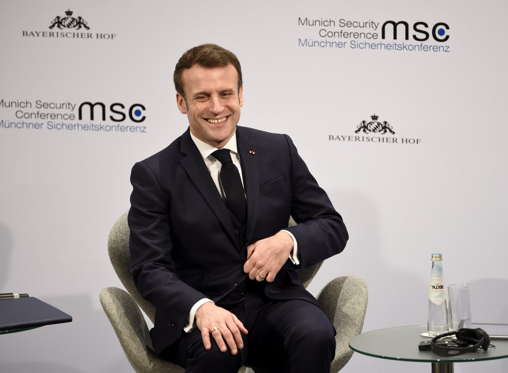 France's Macron urges better long-term relations with Russia