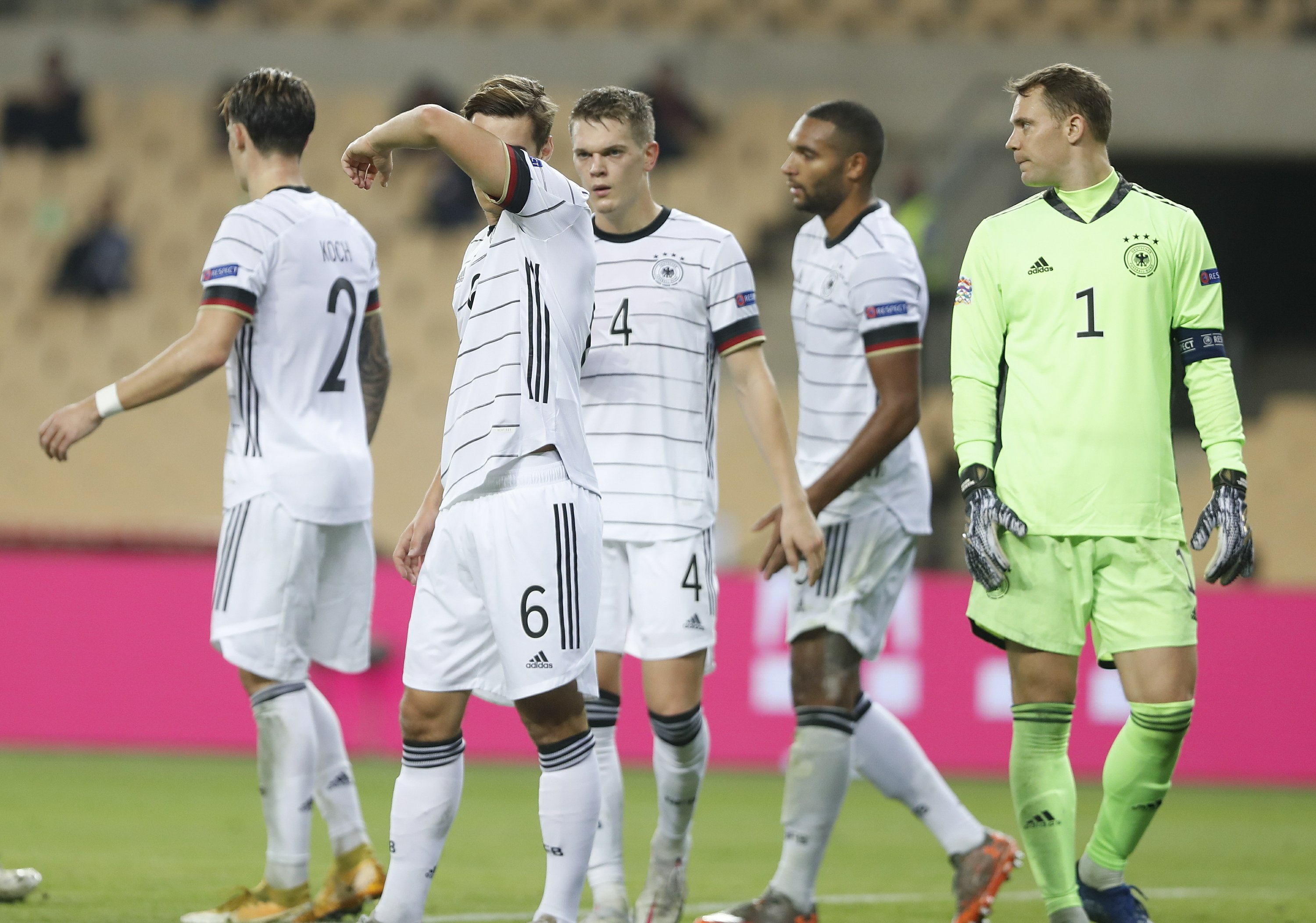 Germany's 6-0 loss in Spain confirms national team's decline