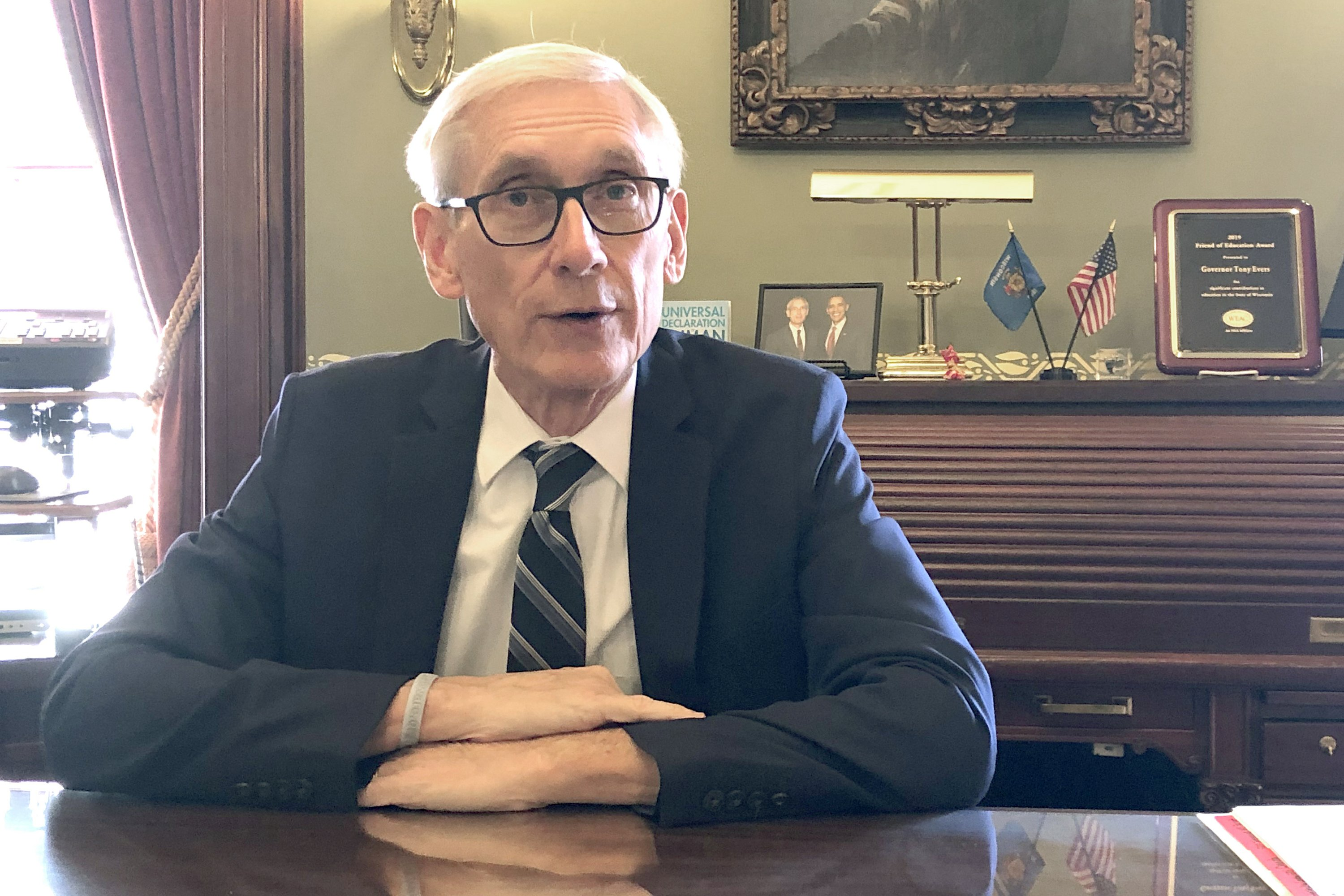 Evers says he's a work in progress entering second year