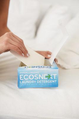 Ecos Introduces Ecosnext Revolutionary Liquidless Laundry Detergent