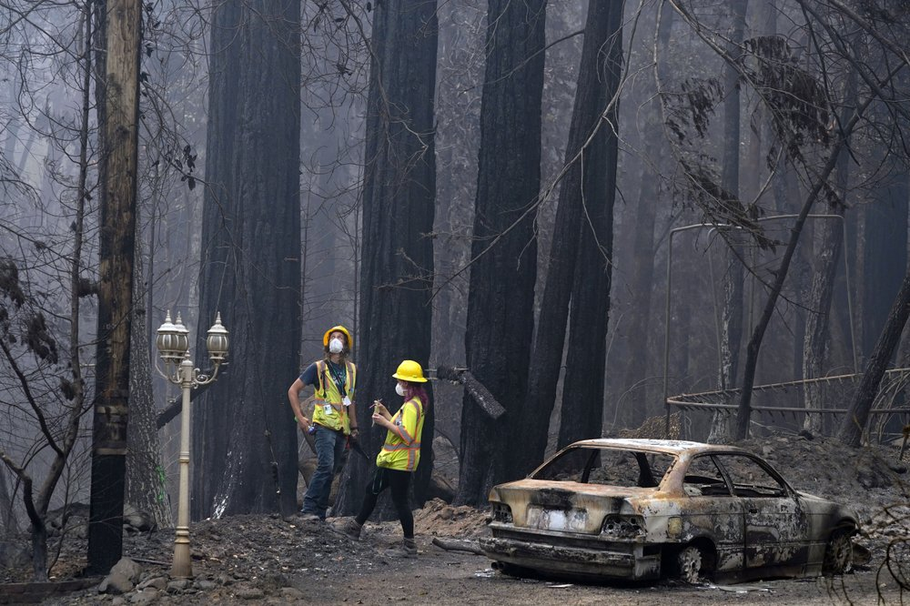 California faces huge fires before usual peak of season