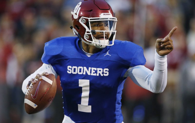 new concept ccdb8 e6c77 Oklahoma QB Hurts cramming for only year with Sooners
