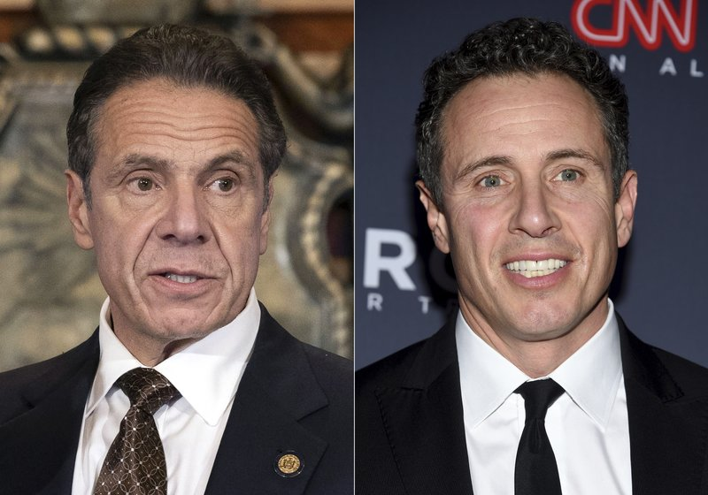 CNN reinstates prohibition on Chris Cuomo interviewing or doing stories about his brother Andrew