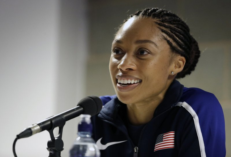 A Simone Biles Fan Told Allyson Felix it was 'Incredible' that Simone Biles Left Nike for Athleta — Not Realizing who Felix was or her Role in the Deal