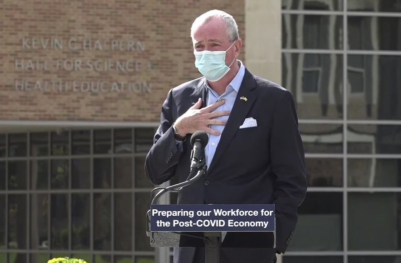 NJ Gov. Murphy halts indoor dining from 10 p.m. to 5 a.m. as part of coronavirus restrictions