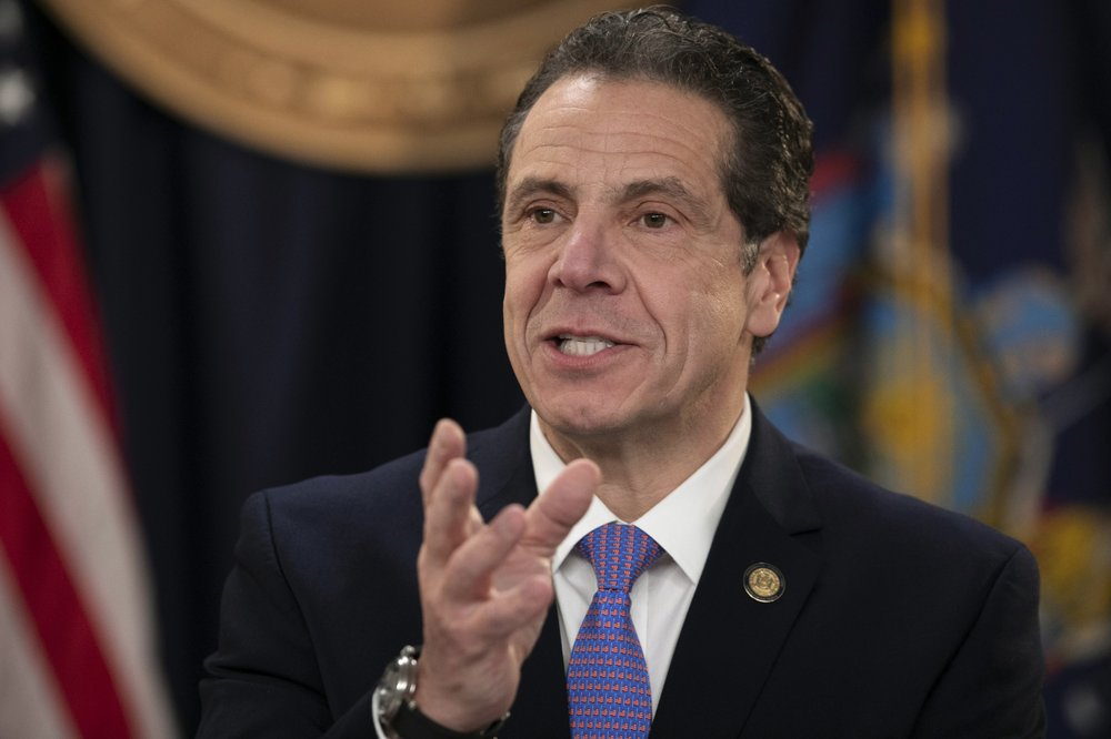Gov. Andrew Cuomo says he is sending the National Guard into a New York City suburb to help fight the nation's biggest known cluster of coronavirus cases
