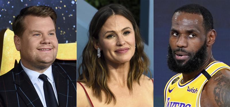 LeBron James, James Corden, Jennifer Garner, Sir David Attenborough receive Webby Award nominations for best internet content and creators